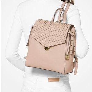 Michael Kors Bristol Studded Leather backpack